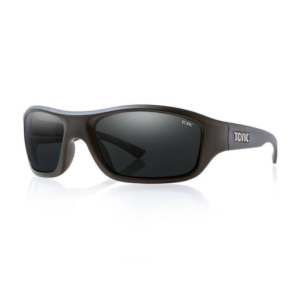 Tonic Evo Matte Black Polarised Sunglasses - Ghillie Outdoors Hunting & Fishing