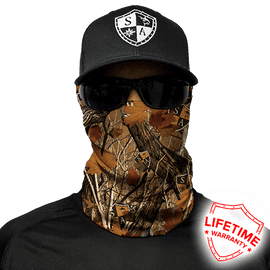 SA Company Face Shield - SA Forest Camo *FREE SHIPPING* - Ghillie Outdoors Hunting & Fishing