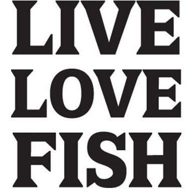 Live Love Fish Vinyl Decal **FREE SHIPPING**