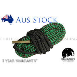 Bore Snake Rifle Cleaning Rope for .22-250, .223, 5.56mm .22 - Ghillie Outdoors Hunting & Fishing