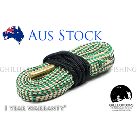 Bore Snake Rifle Cleaning Rope for .308, 30-06, 30-30 .300 .303, 7.62mm - Ghillie Outdoors Hunting & Fishing