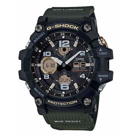 CASIO G-SHOCK MUDMASTER TWIN GREEN GSG100-1A3 - Ghillie Outdoors Hunting & Fishing