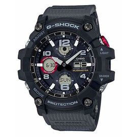 CASIO G-SHOCK MUDMASTER TWIN BLACK GSG100-1A8 - Ghillie Outdoors Hunting & Fishing