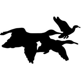 3 Ducks in flight Vinyl Decal **FREE SHIPPING** - Ghillie Outdoors Hunting & Fishing