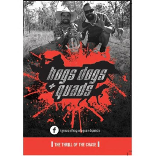HOGS DOGS & QUADS PART 1 - WILD PIG HUNTING DVD *FREE SHIPPING* - Ghillie Outdoors Hunting & Fishing