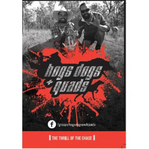 HOGS DOGS & QUADS PART 1 - WILD PIG HUNTING DVD *FREE SHIPPING*