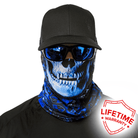SA Company Face Shield - StealthTech Camo Hydro Skull *FREE SHIPPING* - Ghillie Outdoors Hunting & Fishing