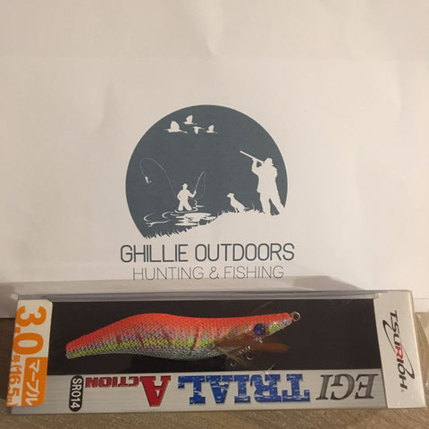 EGI Squid Jig Orange/Mixed size 3.0 FREE Shipping