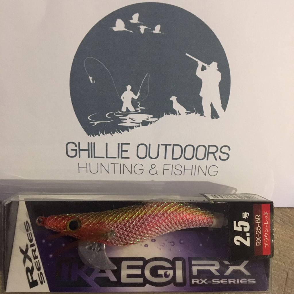 EGI Squid Jig Brown/Red size 2.5 FREE Shipping