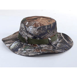 Camouflage Boonie Bucket Hat - Real Tree Style **FREE SHIPPING** - Ghillie Outdoors Hunting & Fishing