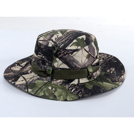 Camouflage Boonie Bucket Hat - Buffalo Style **FREE SHIPPING** - Ghillie Outdoors Hunting & Fishing