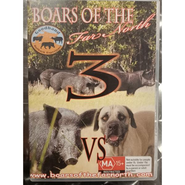 Boars Of The Far North - Part 3 - FREE SHIPPING AUST WIDE - Ghillie Outdoors Hunting & Fishing