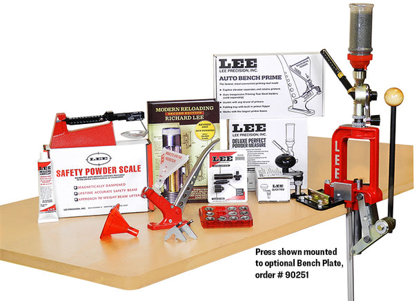 Lee Deluxe Challenger Press Kit - 60Th Anniversary Reloading Kit 90080 FREE SHIPPING - Ghillie Outdoors Hunting & Fishing