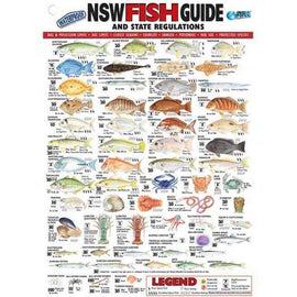 AFN Australian State Specific Fish ID Charts - Ghillie Outdoors Hunting & Fishing