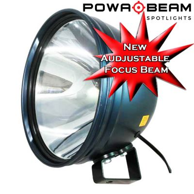 "Powa Beam 285mm/11"" HID 50W Spotlight with Bracket"