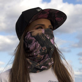 SA Company Face Shield - SA Pink Forest Camo *FREE SHIPPING* - Ghillie Outdoors Hunting & Fishing