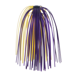 Dekoi Jigging Skirts, Purple/Gold, 5 pack