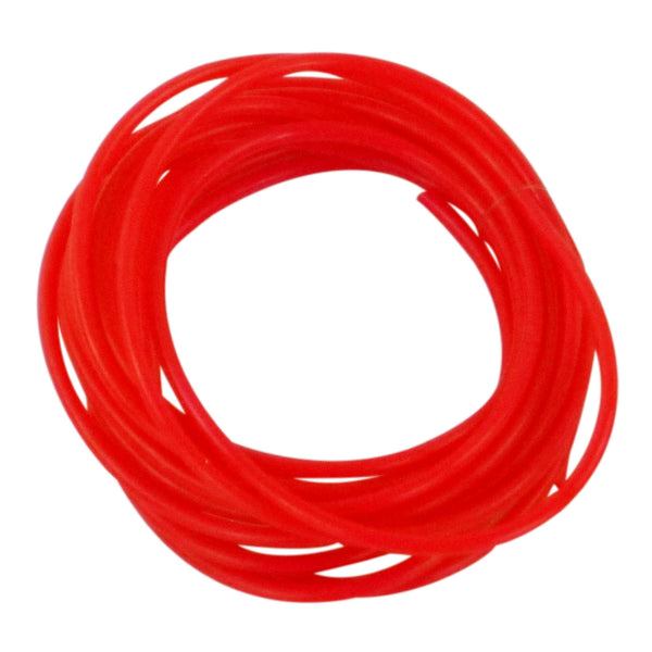 Swimerz 1mm Tube 400cm, Red Bulk Roll - Ghillie Outdoors Hunting & Fishing