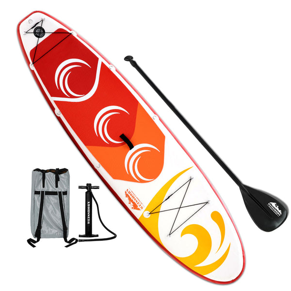 Weisshorn 10FT Stand Up Paddle Board Inflatable SUP Surfborads 15CM Thick - Ghillie Outdoors Hunting & Fishing
