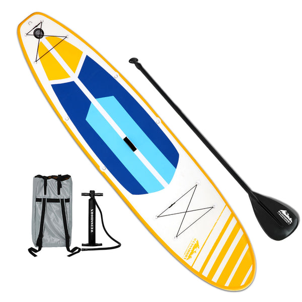 Weisshorn 11FT Stand Up Paddle Board Inflatable SUP Surfborads 10CM Thick - Ghillie Outdoors Hunting & Fishing