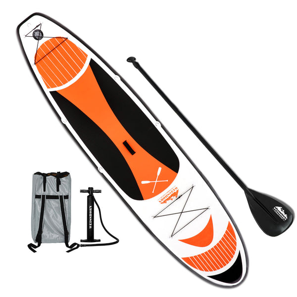 Weisshorn 11FT Stand Up Paddle Board Inflatable SUP Surfborads 15CM Thick - Ghillie Outdoors Hunting & Fishing
