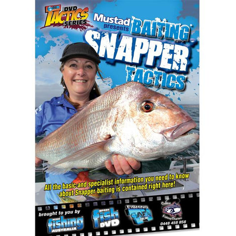 AFN BAITING SNAPPER TACTICS FISHING DVD HOW TO GUIDE *FREE SHIPPING*