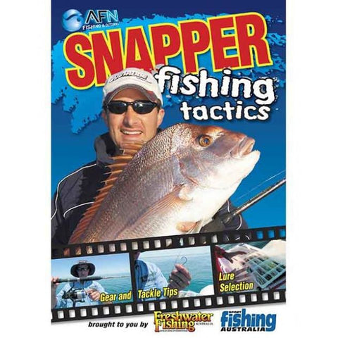 AFN SNAPPER FISHING TACTICS DVD *FREE SHIPPING*