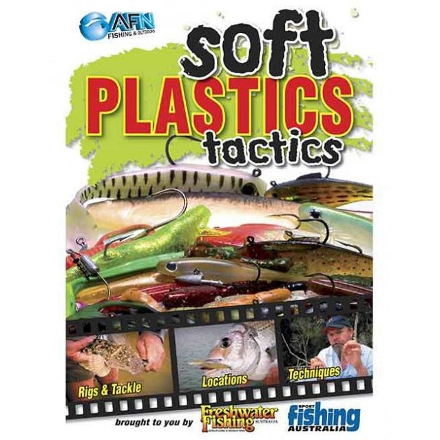 AFN SOFT PLASTICS TACTICS FISHING DVD HOW TO GUIDE *FREE SHIPPING*