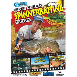 AFN SPINNERBAITING TACTICS FISHING DVD HOW TO GUIDE *FREE SHIPPING* - Ghillie Outdoors Hunting & Fishing