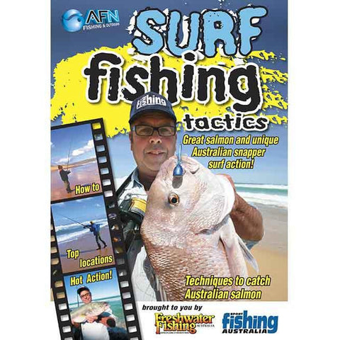 AFN SURF FISHING TACTICS FISHING DVD HOW TO GUIDE *FREE SHIPPING*