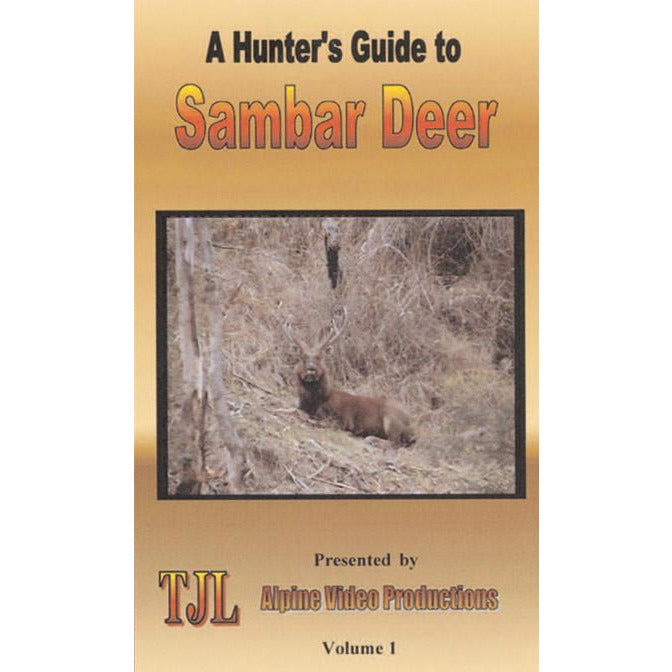 A HUNTERS GUIDE TO SAMBAR DEER VOLUME 1 - FREE SHIPPING AUST WIDE