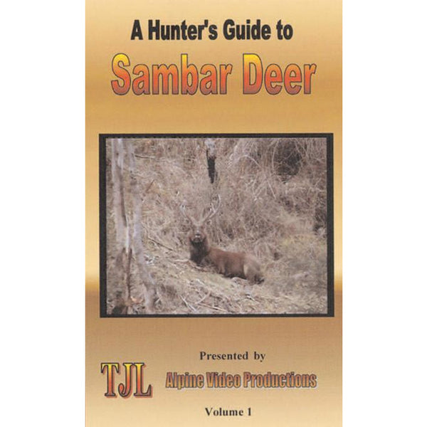 A HUNTERS GUIDE TO SAMBAR DEER VOLUME 1 - FREE SHIPPING AUST WIDE - Ghillie Outdoors Hunting & Fishing