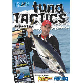 AFN TUNA TACTICS FISHING DVD HOW TO GUIDE *FREE SHIPPING* - Ghillie Outdoors Hunting & Fishing