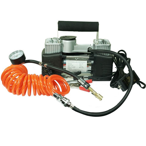 Air Compressor 12v Car 4x4 Tyre Deflator/Inflator 150PSI 85L/min BONUS TYRE REPAIR KIT FREE SHIPPING