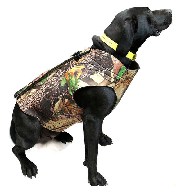Neoprene Realtree Camo Dog Vest - Ghillie Outdoors Hunting & Fishing