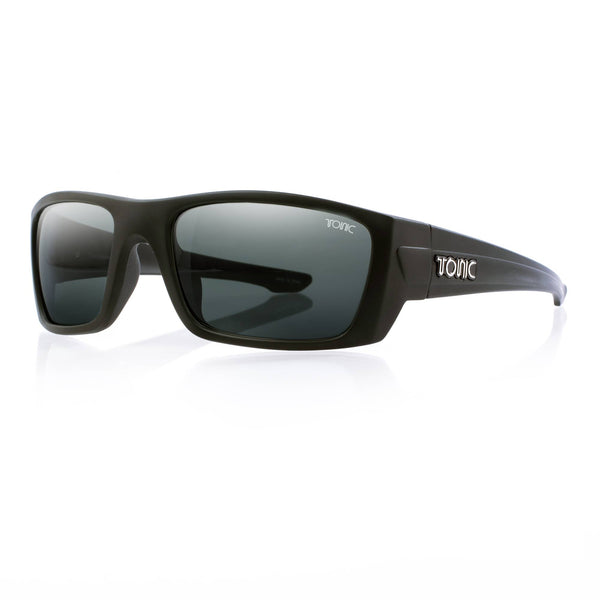 Tonic Youranium Matte Black Polarised Sunglasses - Ghillie Outdoors Hunting & Fishing