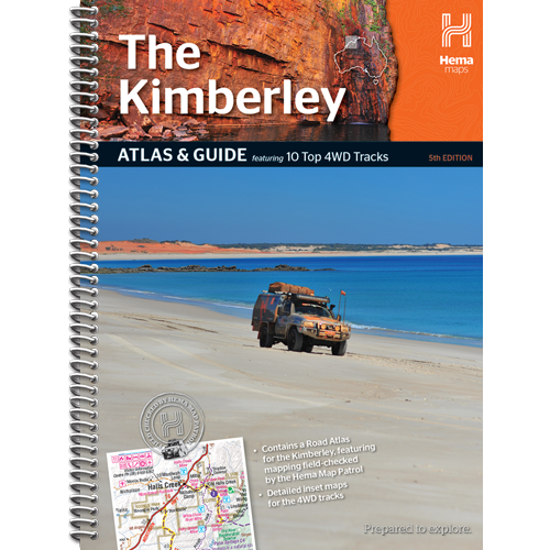 HEMA THE KIMBERLEY ATLAS AND GUIDE  *FREE SHIPPING* - Ghillie Outdoors Hunting & Fishing