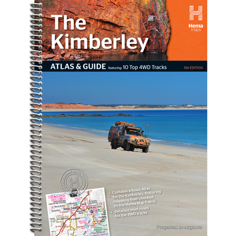 HEMA THE KIMBERLEY ATLAS AND GUIDE  *FREE SHIPPING*