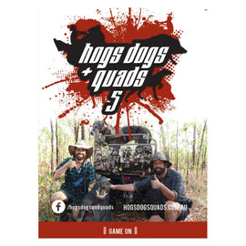 HOGS DOGS & QUADS PART 5 - WILD PIG HUNTING DVD *FREE SHIPPING*