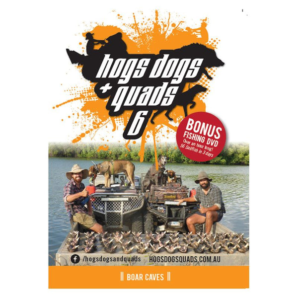 HOGS DOGS & QUADS PART 6 - WILD PIG HUNTING DVD *FREE SHIPPING* - Ghillie Outdoors Hunting & Fishing