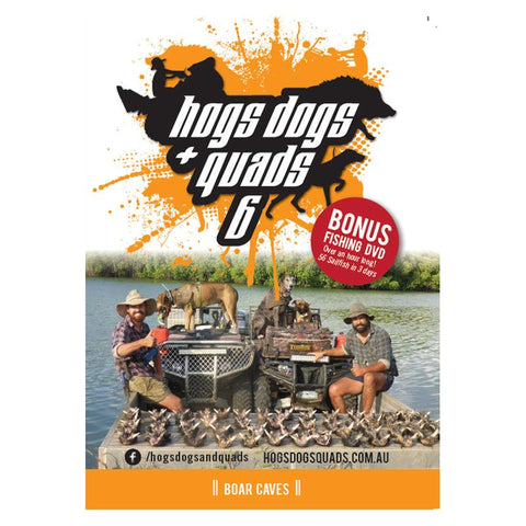 HOGS DOGS & QUADS PART 6 - WILD PIG HUNTING DVD *FREE SHIPPING*