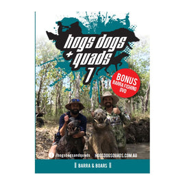 HOGS DOGS & QUADS PART 7 - WILD PIG HUNTING DVD *FREE SHIPPING*