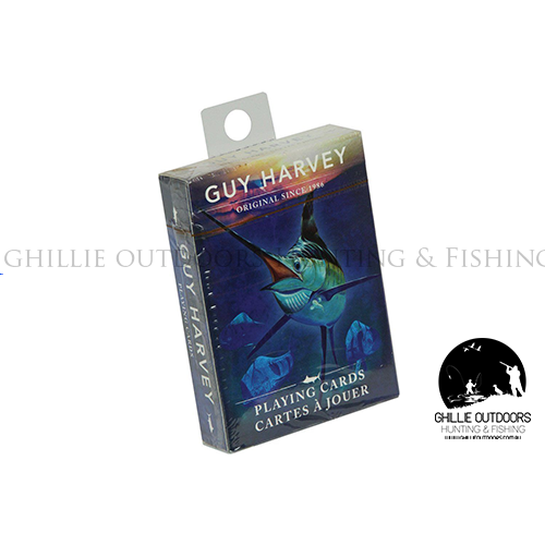 Guy Harvey Playing Cards With Unique Art - Ghillie Outdoors Hunting & Fishing