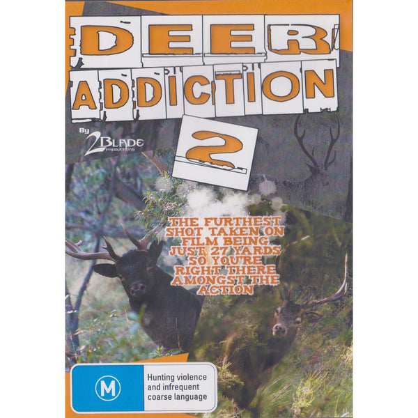 DEER ADDICTION VOLUME 2 - FREE SHIPPING AUST WIDE - Ghillie Outdoors Hunting & Fishing