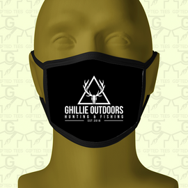 Ghillie Outdoors Face Mask - Ghillie Outdoors Hunting & Fishing