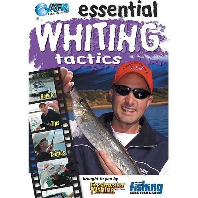 AFN ESSENTIAL WHITING TACTICS FISHING DVD HOW TO GUIDE *FREE SHIPPING*