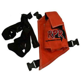 RPR GPS/UHF HOLSTER SINGLE ORANGE **FREE SHIPPING AUST WIDE**