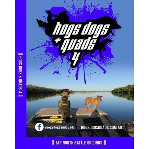 HOGS DOGS & QUADS PART 4 - WILD PIG HUNTING DVD *FREE SHIPPING*