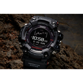 Casio G-Shock Rangeman GPR-B1000D GPS BLACK BAND Survival Watch