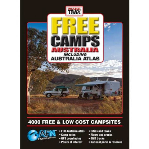MAKE TRAX FREE CAMPS INCLUDING AUSTRALIA ATLAS FREE POST